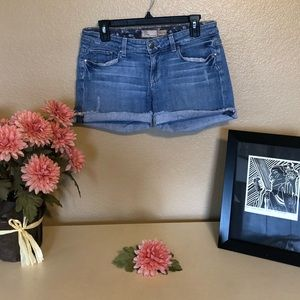 Paige Premium Denim Shorts Jimmy Jimmy size 27